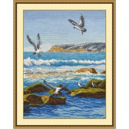 Cross Stitch Kit Sea Surf art. 816