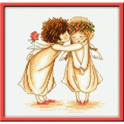 Cross Stitch Kit Warm sentimental art. 875