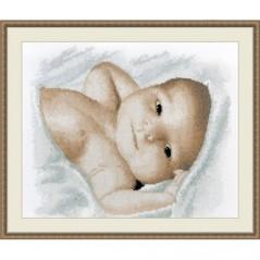 Cross Stitch Kit LITTLE BABY art. 923