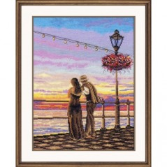 Cross Stitch Kit Romantic evening art. 926