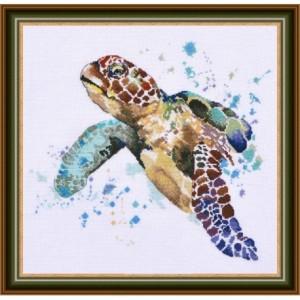 Cross Stitch Kit Greatness of Turtle art . 939