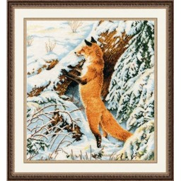 Cross Stitch Kit Ginger Hunter (fox) art. 975