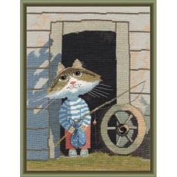 Cross Stitch Kit LITTLE FISHERMAN art. 977
