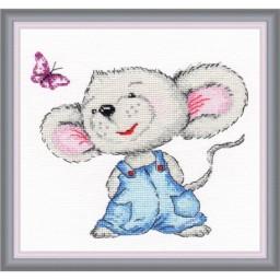 Cross Stitch Kit Mousy art. 981