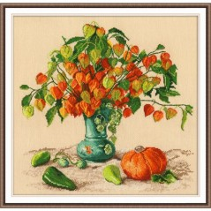 Cross Stitch Kit AUTUMN LANTERN art. 987