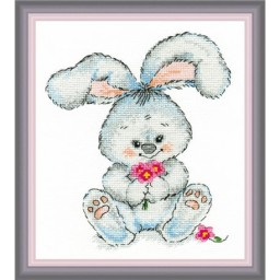 Cross Stitch Kit Rabbit art. 989