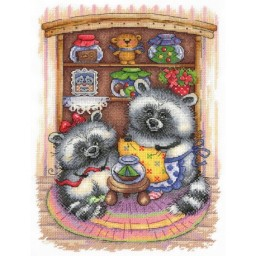 Cross Stitch Kit HOMEMADE PICKLES A-012
