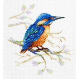 Cross Stitch Kit FEATHERED OBSERVER A-028
