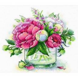Cross Stitch Kit TENDER AROMA A-032 Pre-order