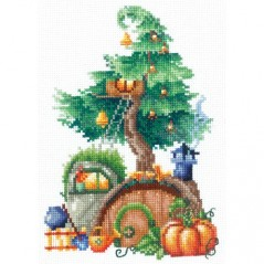 Cross Stitch Kit TREEHOUSES. GENEROUS SAND-22 Pre-order