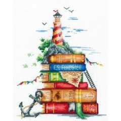 Cross Stitch Kit Sea Stories S-08