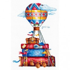 Cross Stitch Kit Travel Stories S-09
