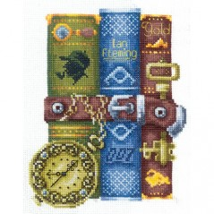 Cross Stitch Kit Books for him K-47