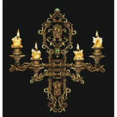 Cross Stitch Kit Evening by Candlelight B-28