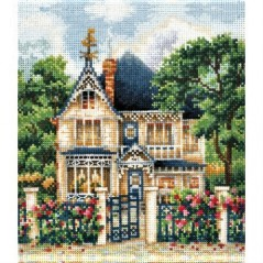 Cross Stitch Kit Country House C-36