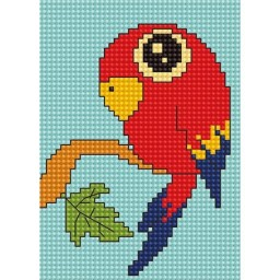 Cross Stitch Kit for beginners Parrot B080