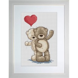 Cross Stitch Kit Bruno and Bianca B1013