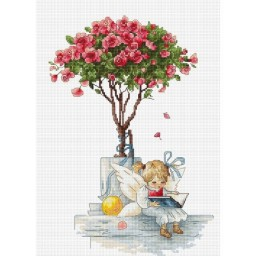 Cross stitch kit The Roses B1115