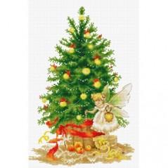 Cross Stitch Kit Christmas Tree Fairy B1117