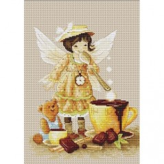 Cross Stitch Kit Chocolate Fairy B1131