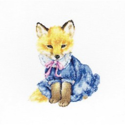 Cross stitch kit Fox B1136