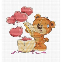 Cross stitch kit Teddy-Bear B1177