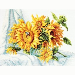 Cross Stitch Kit Sunflower B2264