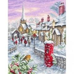 Cross stitch kit Christmas Eve B2361