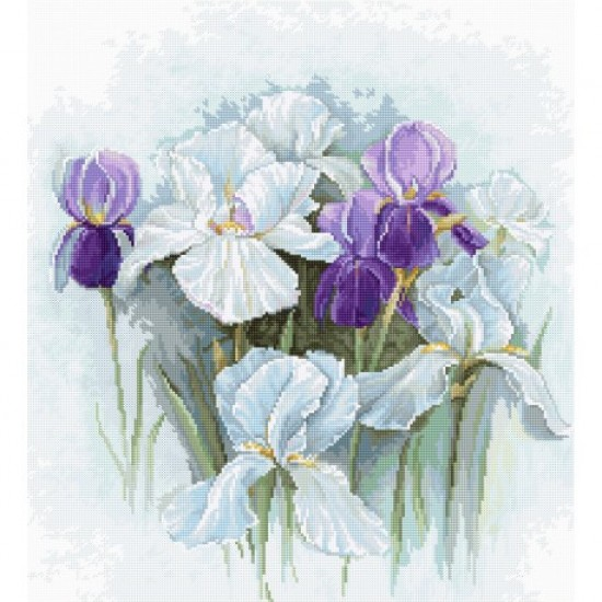 Cross Stitch Kit Irises B2367