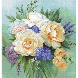 Cross stitch kit Floral Bouquet B2370