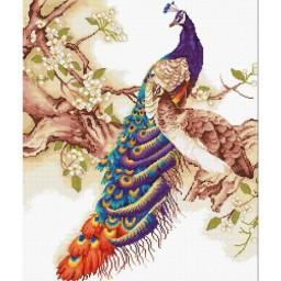 Cross Stitch Kit Peacock B459