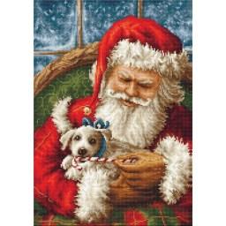 Gobelin kit Santa Claus G561 Petit point