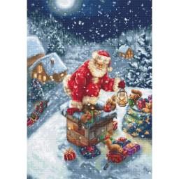 Gobelin kit Santa Claus G577 Petit point