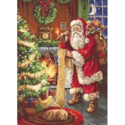 Gobelin kit Santa Claus G578 Petit point
