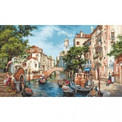 Cross stitch kit The Streets of San Polo B589