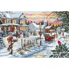 Cross Stitch Kit Christmas Eve B595