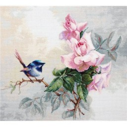 Cross Stitch Kit Birdie BA2313