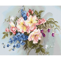 Cross stitch kit The Bouquet with Bells BA2362