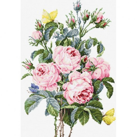 Cross stitch kit Bouquet of Roses BA2373