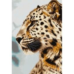 Cross Stitch Kit The Leopard BU4006