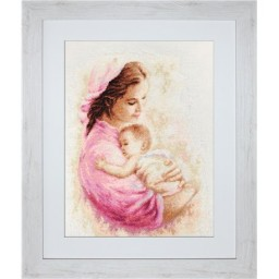 Gobelin kit Mother and Child Petit point G536