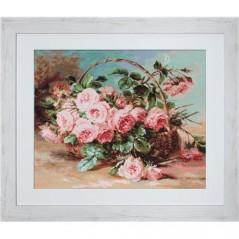 Gobelin kit Basket Of Roses Petit point G547