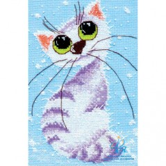 Cross Stitch Kit A Little Cat art. 1026