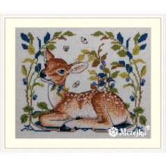 Cross Stitch Kit Little Fawn K-145A