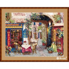 Cross Stitch Kit Cafe in Verona K-161