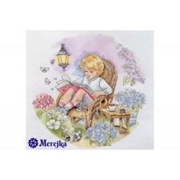 Cross Stitch Kit Fairy garden K-18