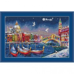 Cross Stitch Kit Holiday Venice K-29