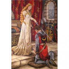 Cross Stitch Kit The Accolade K-35
