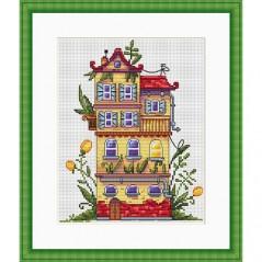 Cross Stitch Kit Spring House K-52