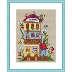 Cross Stitch Kit Summer House K-53